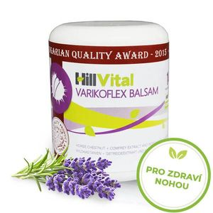 HillVital | Varikoflex mast na křečové žíly 250 ml obraz