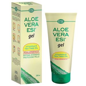 ESI Aloe Vera gel s vitamínem E a Tea Tree olejem 200 ml obraz