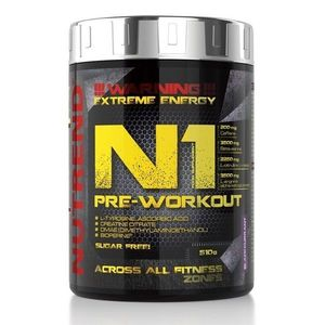 N1 Pre-Workout od Nutrend 10 x 17 g Blackcurrant obraz