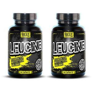 1 + 1 Zdarma: Leucine od Best Nutrition 120 kaps. + 120 kaps. obraz