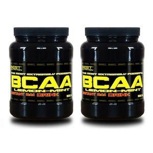 1 + 1 Zdarma: BCAA Instant Drink od Best Nutrition 300 g + 300 g Citrón+Mint obraz