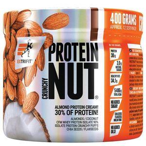 Nut Protein Crunchy - Extrifit 400 g Dvojitá čokoláda obraz