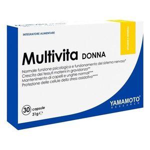 Multivita Donna (sestavený speciálně pro potřeby žen) - Yamamoto 30 kaps. obraz