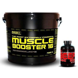 Muscle Booster + BEEF Amino Zdarma - Best Nutrition 7, 0 kg + 250 tbl. Banán obraz