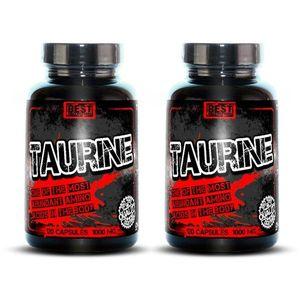 1 + 1 Zdarma: Taurine od Best Nutrition 120 kaps. + 120 kaps. obraz
