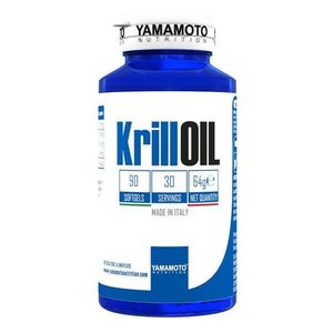 Krill Oil - Yamamoto 90 softgels obraz