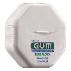 GUM Fine Floss zubní nit voskovaná, 55 m obraz