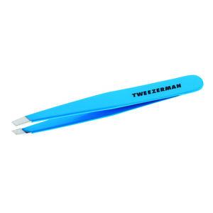 Tweezerman SLANT Blue Jewel pinzeta modrý klenot obraz
