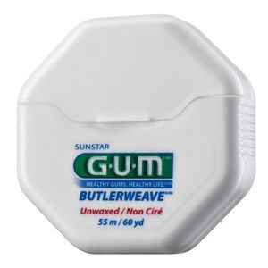 GUM Weave zubní nit nevoskovaná, 55 m obraz