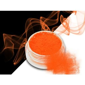 Ráj nehtů Smoke pigment - Neon Orange obraz