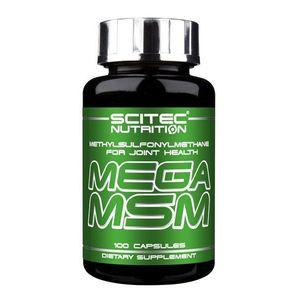 Mega MSM - Scitec 100 kaps. obraz