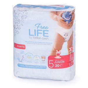 Ontex Group Bébé Cash Premium Pants vel.5(12-18 kg) 20 ks obraz
