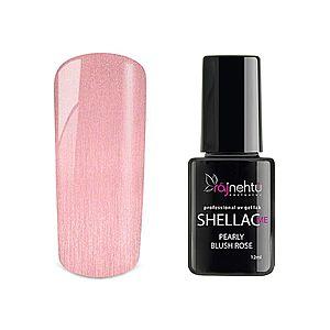 Ráj nehtů UV gel lak Shellac Me 12ml - Pearly Blush Rose obraz