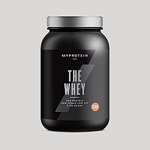 THE Whey™ - 30 Servings - 870g - Jahodový milkshake obraz