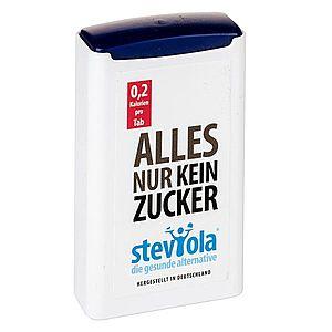 STEVIOLA tablety stévie v dávkovači, 300 tbl. obraz