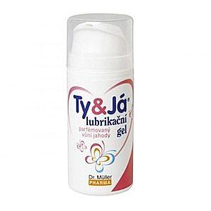 Ty&já Lubrikační gel parfémovaný jahoda 100 ml obraz