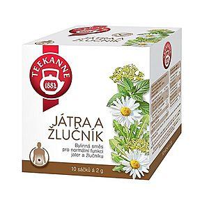 Teekanne Játra a žlučník bylinný čaj porcovaný 10x2 g obraz
