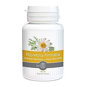Imbio Kopretina řimbaba + vitamín B6 a hořčík 40 tablet obraz