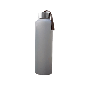 Everyday Baby skleněná láhev na vodu, 400 ml, šedá obraz