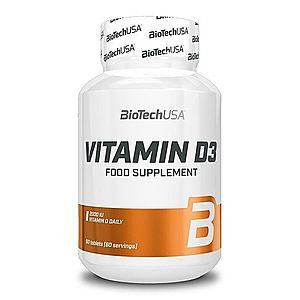 Vitamin D3 tbl. - Biotech USA 60 tbl. obraz
