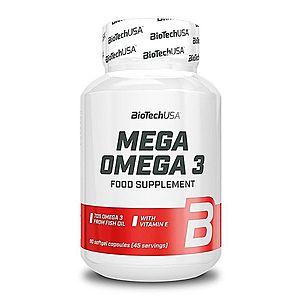 Mega Omega 3 - Biotech USA 180 kaps. obraz