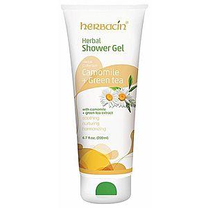 Herbacin Sprchový gel bylinný Camomile + Green Tea 200 ml obraz