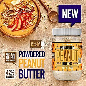 Powdered Peanut Butter - GymBeam 190 g obraz