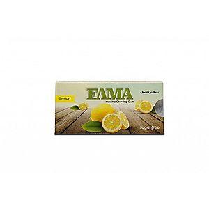 ELMA mastichové žvýkačky máta, dražé 10 ks Příchuť: Citron obraz