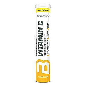 Vitamin C 1000 šumivý - Biotech USA 20 tbl. Lemon obraz