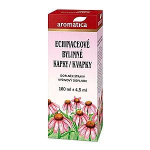 Aromatica Echinaceové bylinné kapky 100 ml obraz
