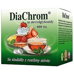 Diachrom se steviolglykosidy 600 tablet obraz