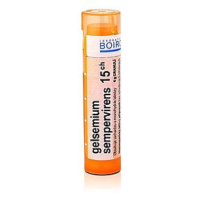 Boiron GELSEMIUM SEMPERVIRENS CH15 granule 4 g obraz
