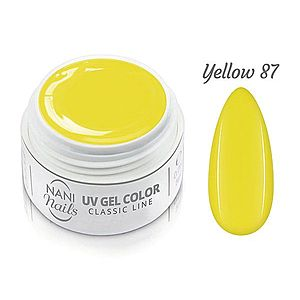 NANI UV gel Classic Line 5 ml - Yellow obraz