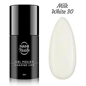 NANI gel lak Amazing Line 5 ml - Milky White obraz