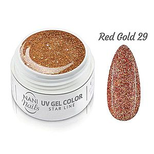 NANI UV gel Star Line 5 ml - Red obraz
