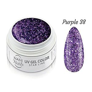NANI UV gel Star Line 5 ml - Purple obraz