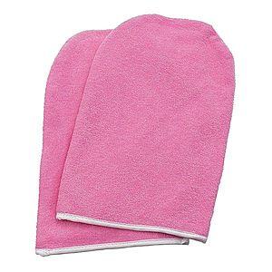 NANI froté parafínové rukavice Premium - Růžová obraz