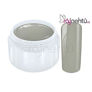 Ráj nehtů Barevný UV gel PASTEL - Grey 5ml obraz