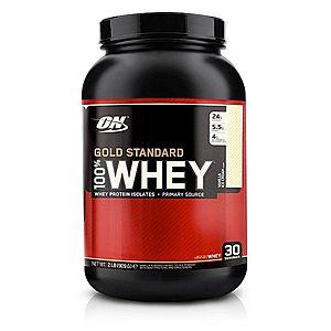 100% Whey Gold Standard Protein - Optimum Nutrition 2270 g Caramel Toffee Fudge obraz