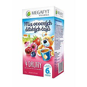 Megafyt MIX ovocných dětských čajů 4 druhy 20x2 g obraz