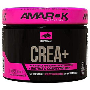 For Woman Crea Plus - Amarok Nutrition 300 g Tropical Fruits obraz