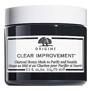 ORIGINS - Clear Improvement Charcoal Honey Mask - Pleťová maska obraz