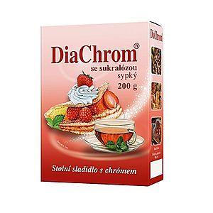 Diachrom se sukralózou sypký nízkokalorické sladidlo 200 g obraz