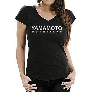Lady T-Shirt V 145 OE - Yamamoto Active Wear Čierna L obraz