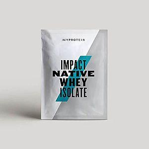 Myprotein Impact Native Whey Isolate (Sample) - 25g - Přírodní čokoláda obraz