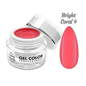 NANI UV/LED gel Professional 5 ml - Bright Coral obraz