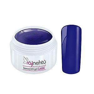 Ráj nehtů Barevný UV gel CLASSIC - Blue 5ml obraz