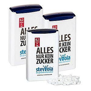 STEVIOLA tablety ve výhodném trojbalení, stévie 3 x 300 tbl. obraz