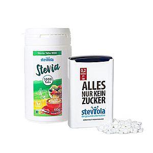 STEVIOLA Stevia tablety ve výhodné sadě, 1000 + 300 tbl. obraz