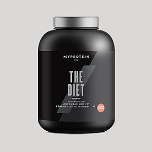 THE Diet - 60servings - Jahodový milkshake obraz